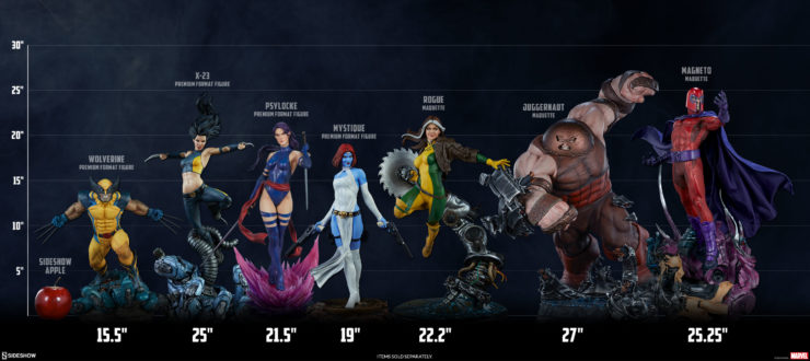 Sideshow's X-Men Collection Scale Lineup from Wolverine to Juggernaut