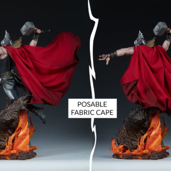 Thor: Breaker of Brimstone Premium Format™ Figure Fabric Pose