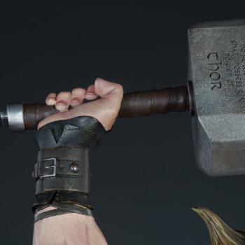 Thor: Breaker of Brimstone Premium Format™ Figure Mjolnir Closeup