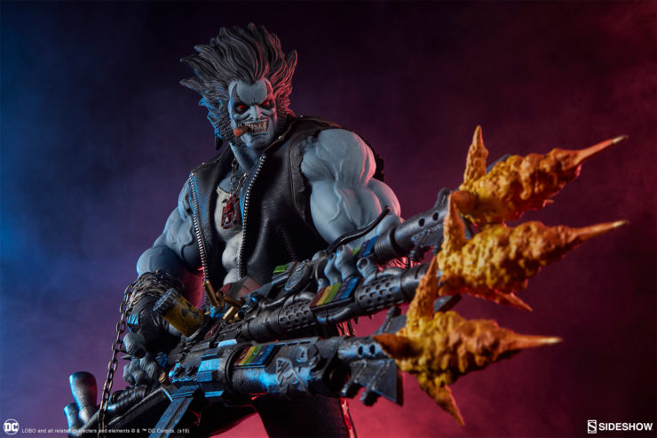 Make Way for the Main Man- Here Comes the Lobo Maquette!