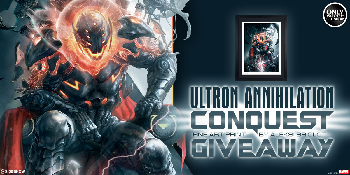 Ultron Annihilation Conquest Art Print Giveaway