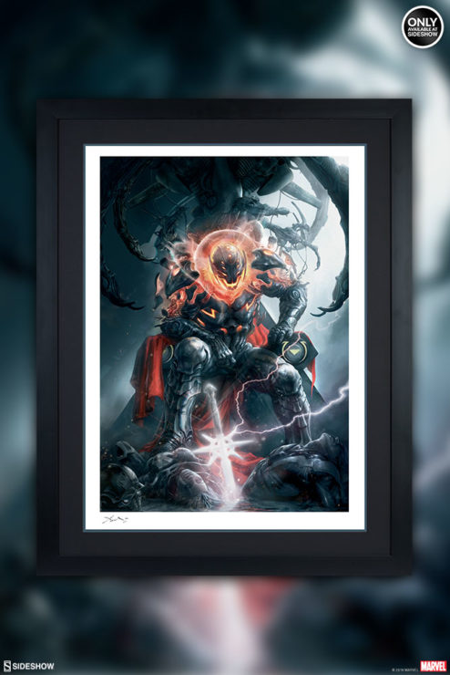 Ultron Conquers All in the Ultron Annihilation: Conquest Fine Art Print by Aleksi Briclot