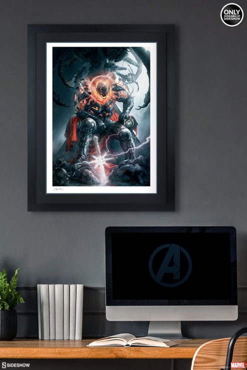 Ultron Art Print Black Framed Drama Shot