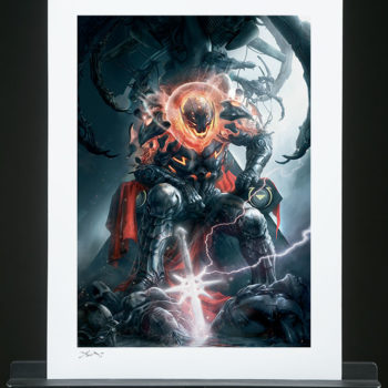 Ultron Annihilation: Conquest Unframed Fine Art Print by Aleksi Briclot