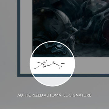Ultron Annihilation: Conquest Fine Art Print by Aleksi Briclot Automated Artist Signature