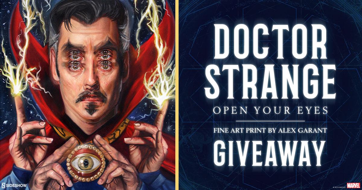 Doctor Strange Print Giveaway