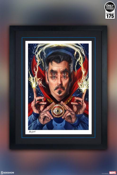 Doctor Strange: Open Your Eyes Fine Art Print by Alex Garant
