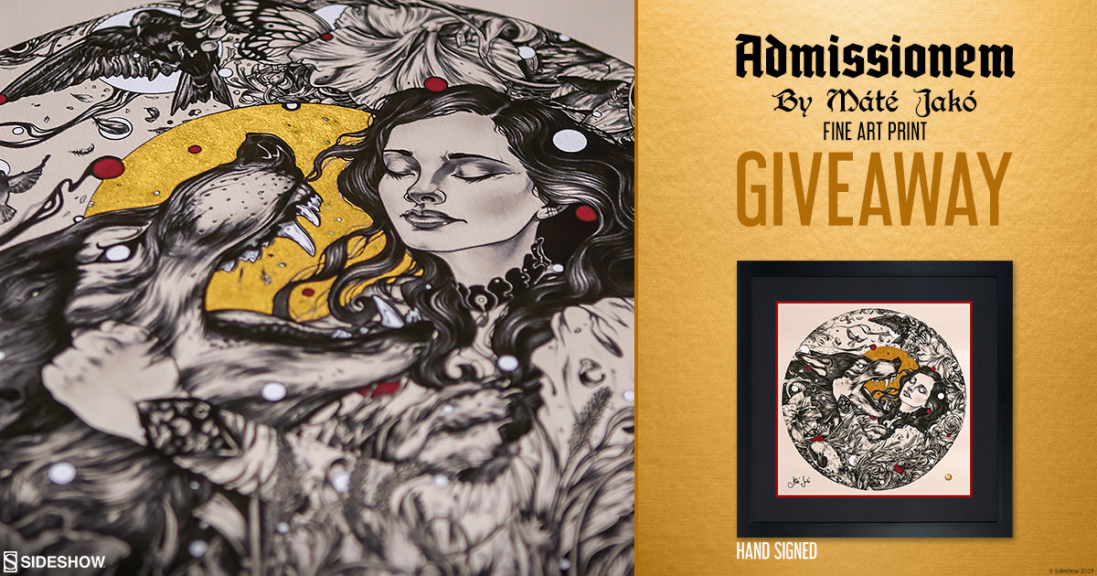 Admissionem Fine Art Print Giveaway