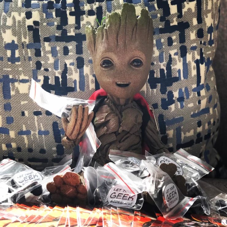 Groot Life Size Figure from Hot Toys