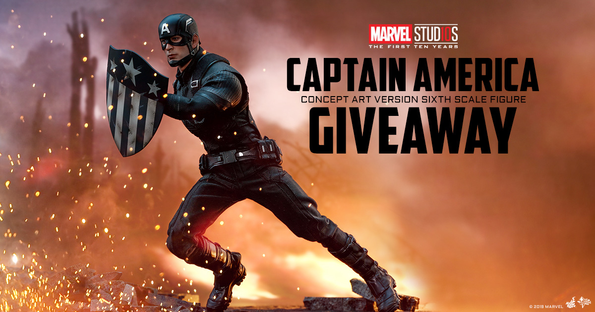 Sideshow Newsletter Hot Toys Captain America Figure Giveaway