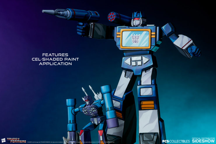 Rise Against the Autobots with the Soundwave Classic Scale Statue from PCS Collectibles