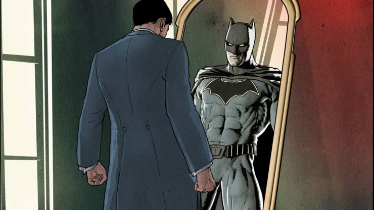 Batman Then & Now