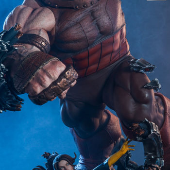 Sideshow's Juggernaut Maquette Exclusive Base Accessory- Kitty Pryde