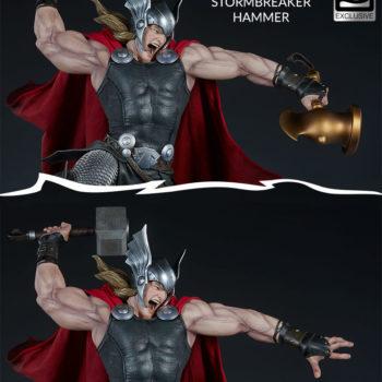 Thor: Breaker of Brimstone Premium Format™ Figure Exclusive Side by Side shot