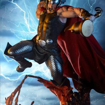 Thor: Breaker of Brimstone Premium Format™ Figure Exclusive Drama Shot