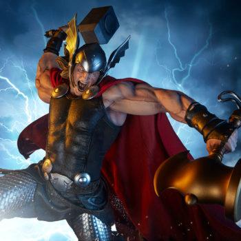 Thor: Breaker of Brimstone Premium Format™ Figure Exclusive Drama Shot 2
