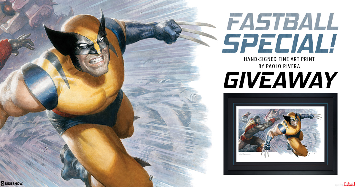 Colossus and Wolverine Art Print Giveaway