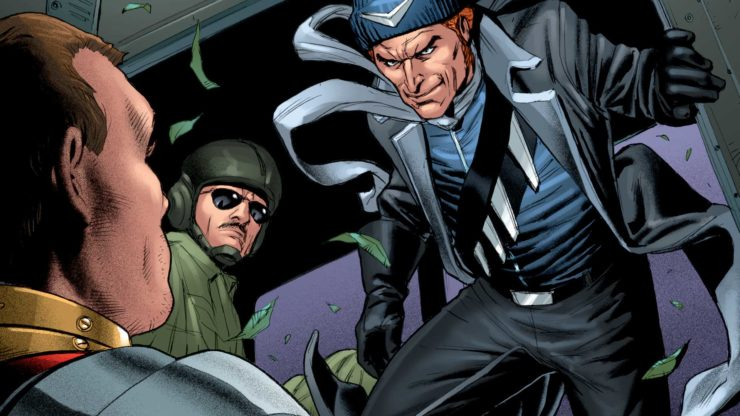 Captain Boomerang- Top 10 Comic Book Captains
