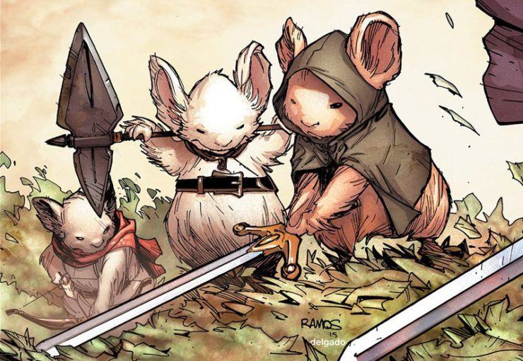 Idris Elba in Talks to Join Mouse Guard Cast