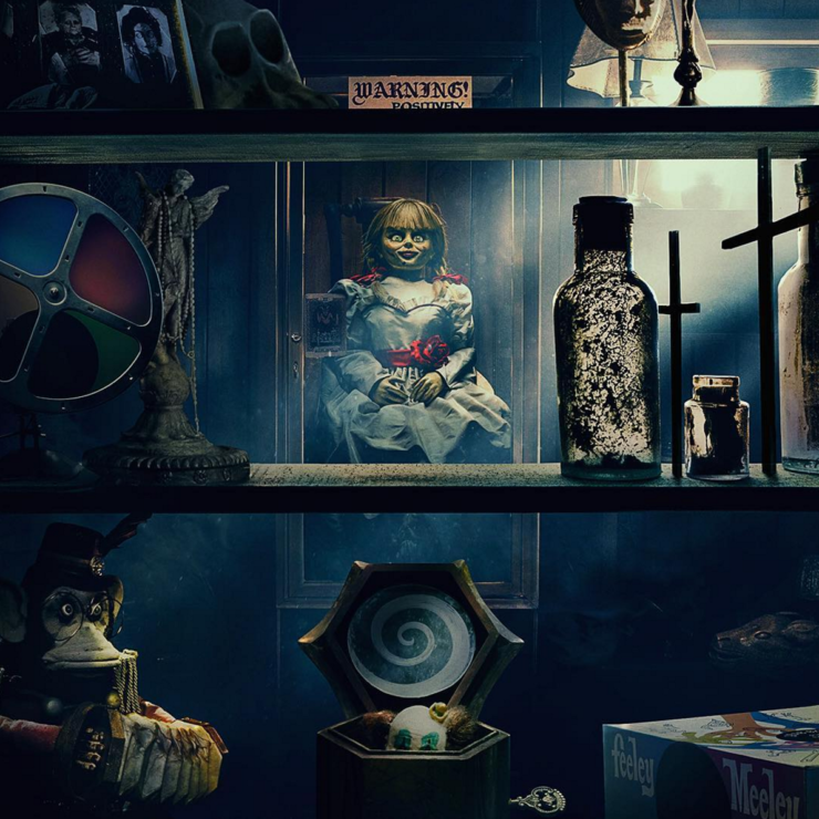 James Wan Teases First Look at Annabelle Comes Home