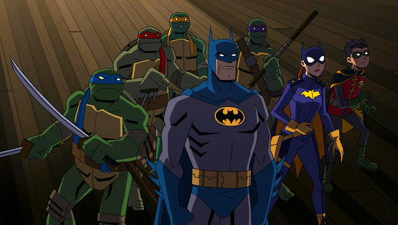 Worlds Collide in Batman vs Teenage Mutant Ninja Turtles Trailer