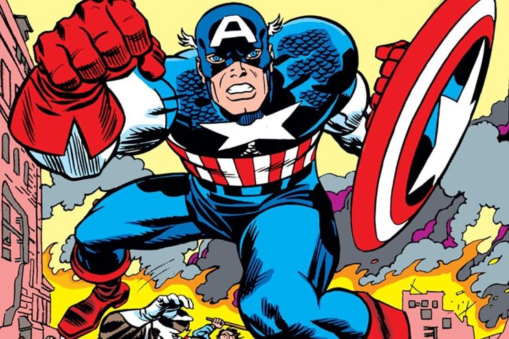 Captain America- Top 10 Comic Book Captains