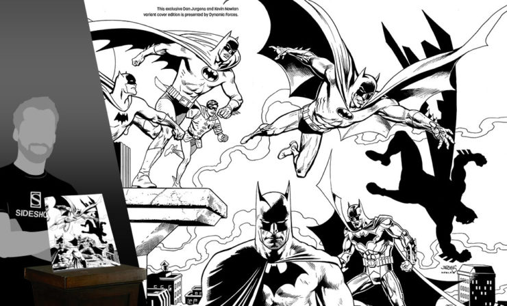 Detective Comics #1000 Pure Line Art Variant Cover by Dan Jurgens and Kevin Nowlan