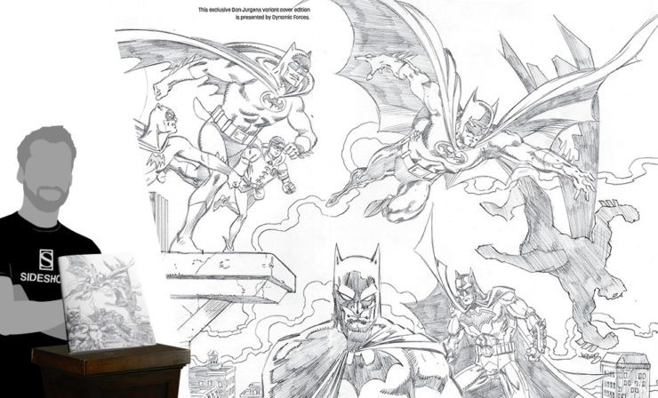 Detective Comics #1000 Pure Pencil Sketch Variant Cover by Dan Jurgens