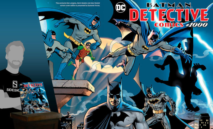 Detective Comics #1000 Variant Cover by Dan Jurgens, Kevin Nowlan, and Alex Sinclair