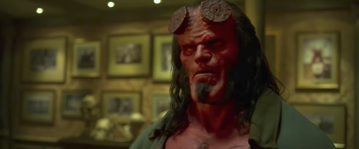 Lionsgate Releases Hellboy Red Band Trailer