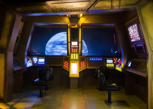 MoPop Museum Sci-Fi Infinite Worlds Exhibit