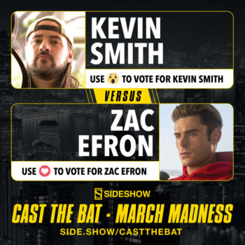 Cast the Bat- March Madness Round One Kevin Smith vs Zac Efron