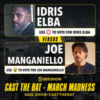Cast the Bat- March Madness Round One Idris Elba vs Joe Manganiello