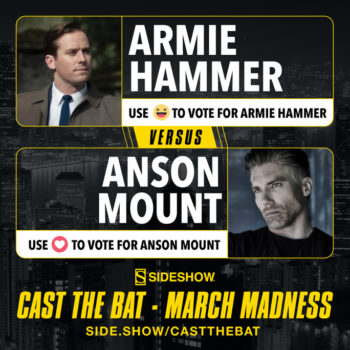 Cast the Bat- March Madness Round One Armie Hammer vs Anson Mount