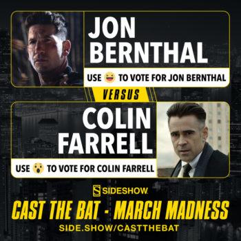 Cast the Bat- March Madness Round One Jon Bernthal Colin Farrell