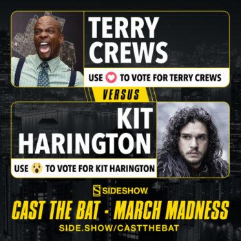 Cast the Bat- March Madness Round One Terry Crews vs Kit Harrington