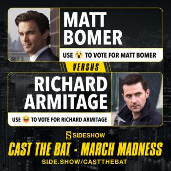Cast the Bat- March Madness Round One Matt Bomer vs Richard Armitage