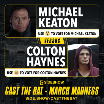 Cast the Bat- March Madness Round One Michael Keaton vs Colton Haynes