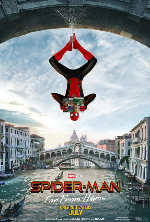New Spider-Man: Far From Home Posters Swing Through Europe