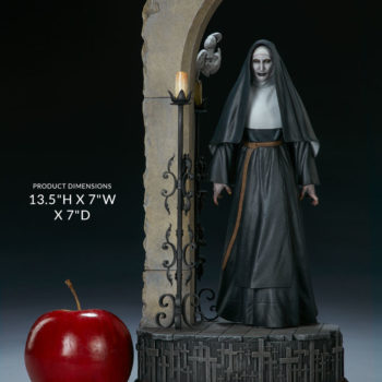 """Collectible Measurements- 13.5"""" Height x 7"""" Width x 7"""" Deep- The Nun Statue from the Conjuring Universe"""