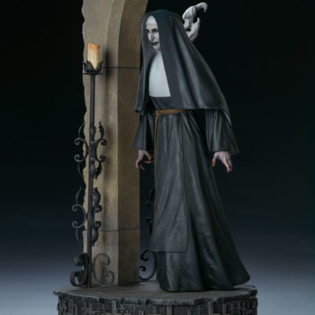 The Nun Statue from the Conjuring Universe Turn View 2