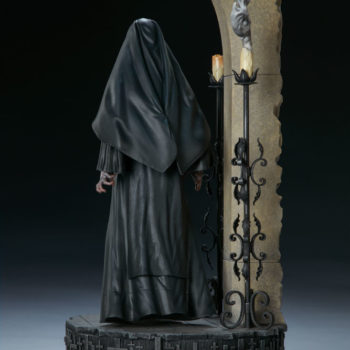 The Nun Statue from the Conjuring Universe Turn View 3