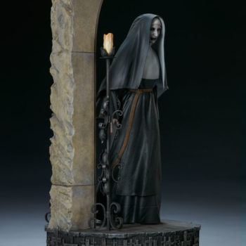The Nun Statue from the Conjuring Universe Turn View 5