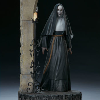 The Nun Statue from the Conjuring Universe Turn View 6