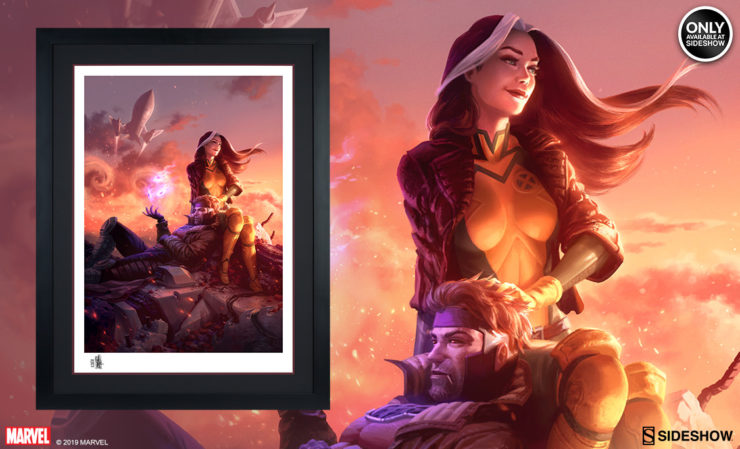 Rogue and Gambit Fine Art Print