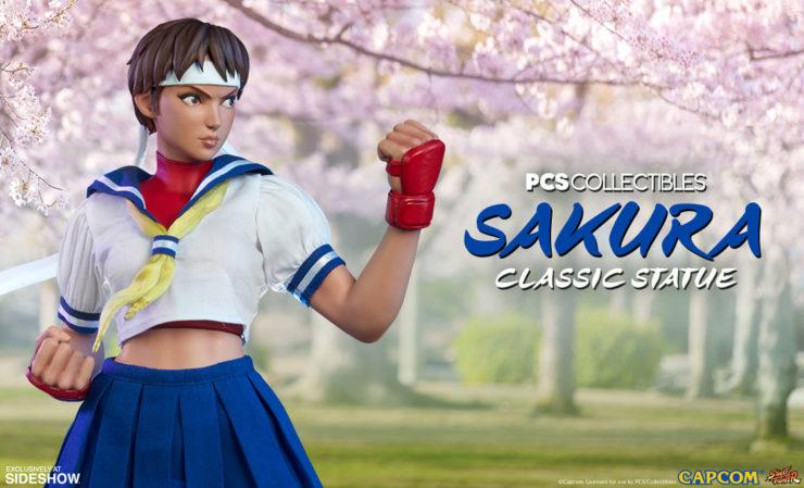 Sakura Classic Statue