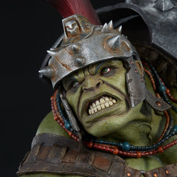 Gladiator Hulk Maquette Portrait Close-Up 2