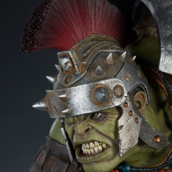 Gladiator Hulk Maquette Portrait Close-Up 3