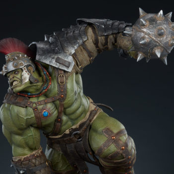 Gladiator Hulk Maquette Upper Torso Close-Up 1