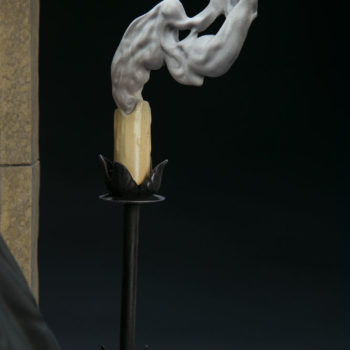 The Nun Statue from the Conjuring Universe Candelabra Detail 2